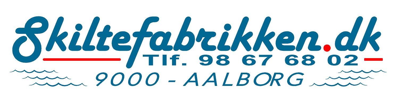 Skiltefabrikken Tryk På ApS Logo